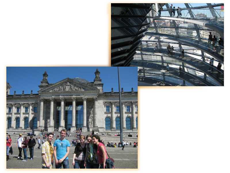 Der Bundestag mit seiner Kuppel